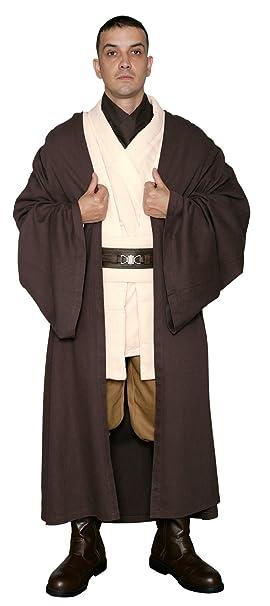 1f7d44c931 Star Wars Obi-Wan Kenobi Jedi Knight Costume - Body Tunic with Dark Brown  Jedi