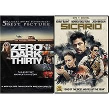 Sicario & Zero Dark Thirty Bundle 2-DVD Set Double Feature Military Manhunt movies