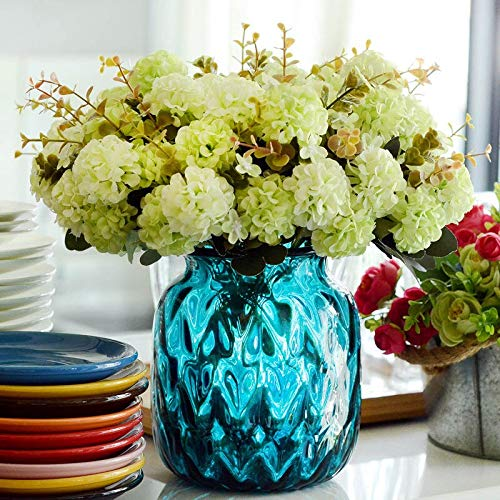 Buy Generic 10 Heads Hydrangea Artificial Flower Arrangement Home Decoration European Style Tb Sale Blue Online At Low Prices In India Amazon In