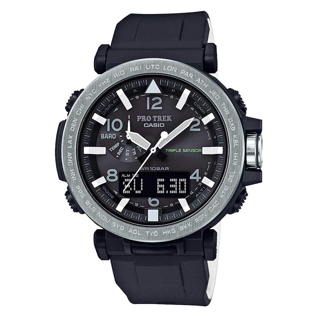 Casio Protrek Analog-Digital Black Dial Men's Watch - PRG-650-1DR (SL99)