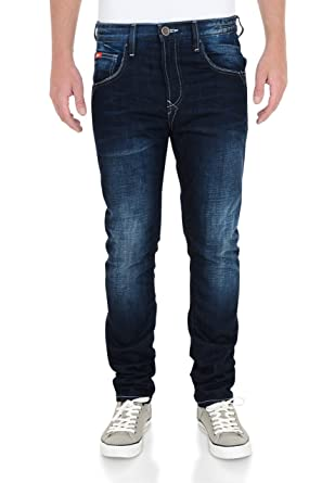 Lee Cooper Men's Norris Slim Fit Jeans 30W x 30L Dark Wash