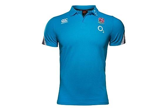Canterbury England Training Polo de algodón piqué Camiseta de ...