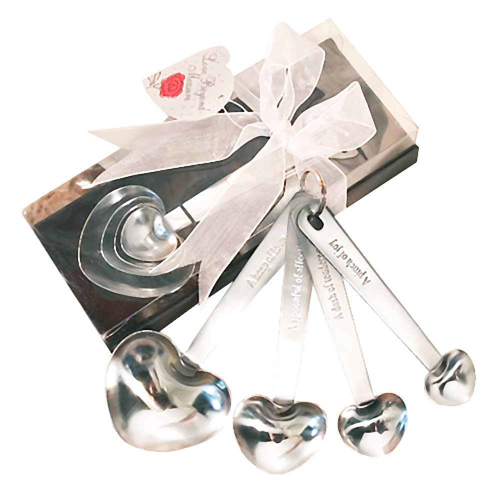 Amazon.com: Heart Shaped Measuring Spoons: Home & Kitchen