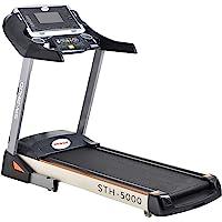 Sparnod Fitness STH-5000 (5 HP Peak) Automatic Treadmill (Free Installation Service) – Foldable Motorized Treadmill for…