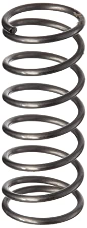 Compression Spring Stainless Steel Metric 4 4 Mm Od 0 4 Mm Wire Size 3 Mm Compressed Length 7 5 Mm Free Length 4 36 N Load Capacity 0 97 N Mm Spring Rate Pack Of 10 Amazon Com Industrial Scientific