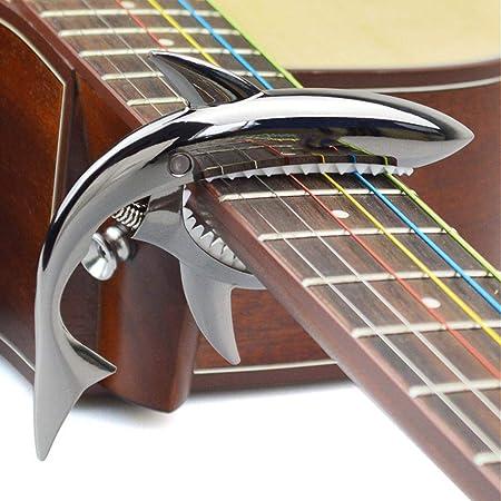 irugh Metal variación de Metal Madera Guitarra Shark Clip de ...