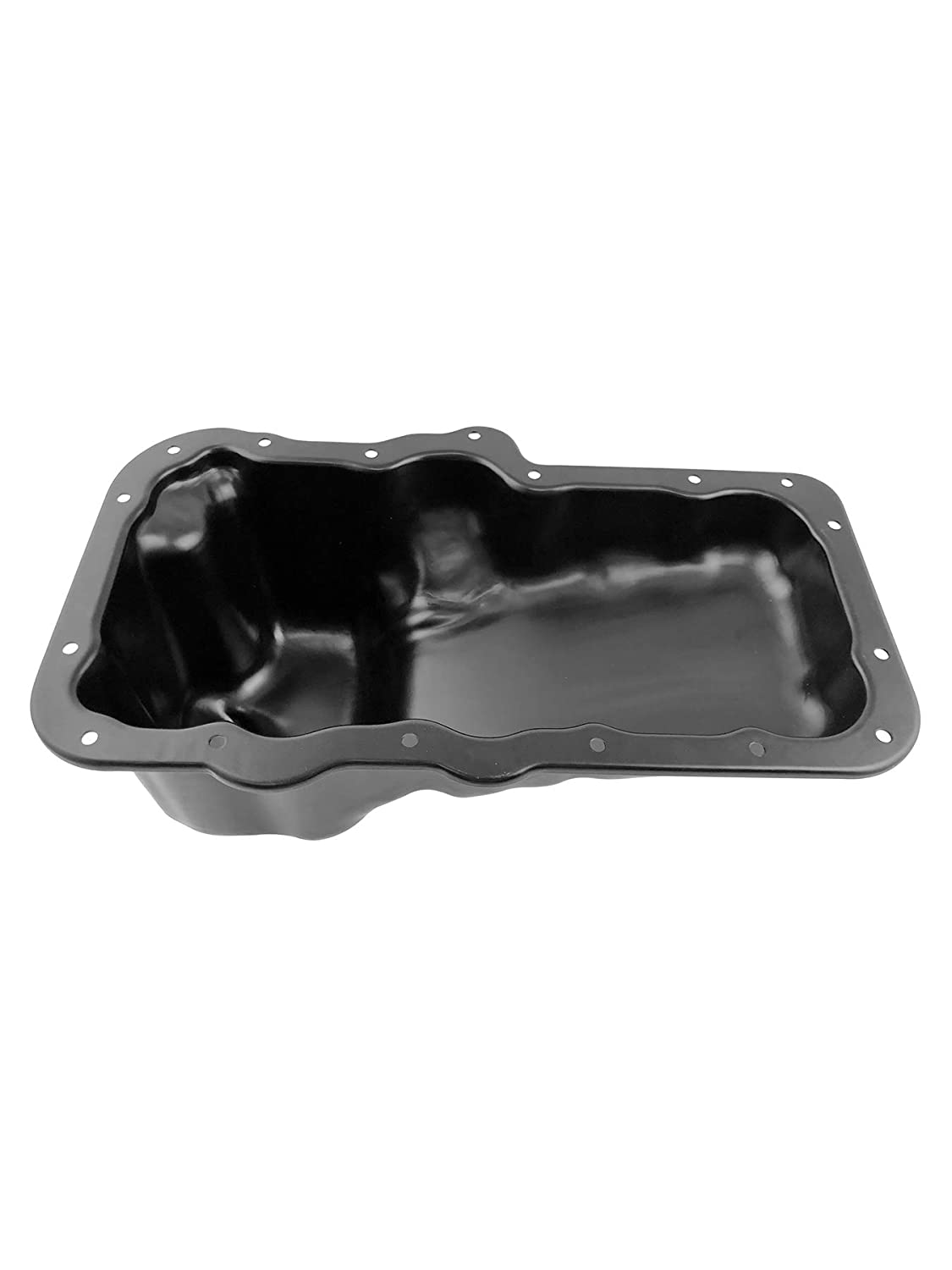 Beasteel 264249 53021779AB 31100937 CRP33A 371080596775 351498823818 282663562555 Steel Engine Oil Pan with Drain Plug for 04-12 Dodge Dakota Nitro Ram 1500 Jeep Liberty