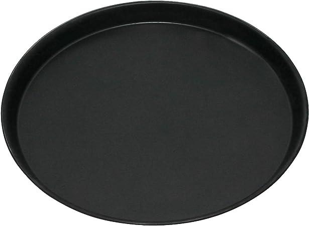 rund unbeschichtet Made in Germany hitzebest/ändig bis 400 /°C GR/ÄWE Pizza-Backblech /Ø 28 cm Ofenblech aus Blaublech