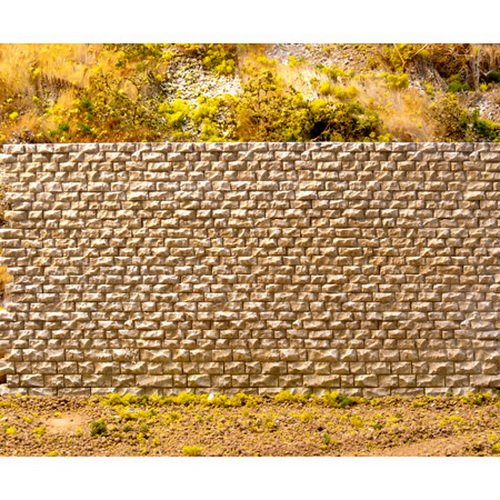 Ho Scale Retaining Wall - Chooch Enterprises HO/N Scale Cut Stone Wall