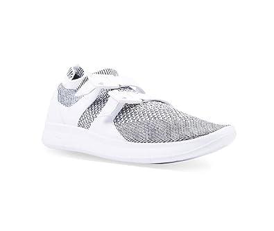 45899db06dea ... ULTRA FLYKNIT WOMENS  NIKE Womens Air Sockracer Flyknit  WhiteWhite-Black 896447-101 Running Shoes 7.5 ...