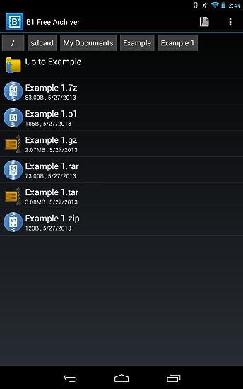 B1 Free Archiver - zip rar unzip