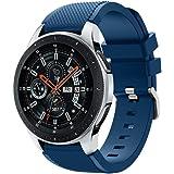 Samsung Galaxy Watch 46mmバンド Comtax 22mm シリコン製 交換用バンド Samsung Galaxy Watch 46mm バンド