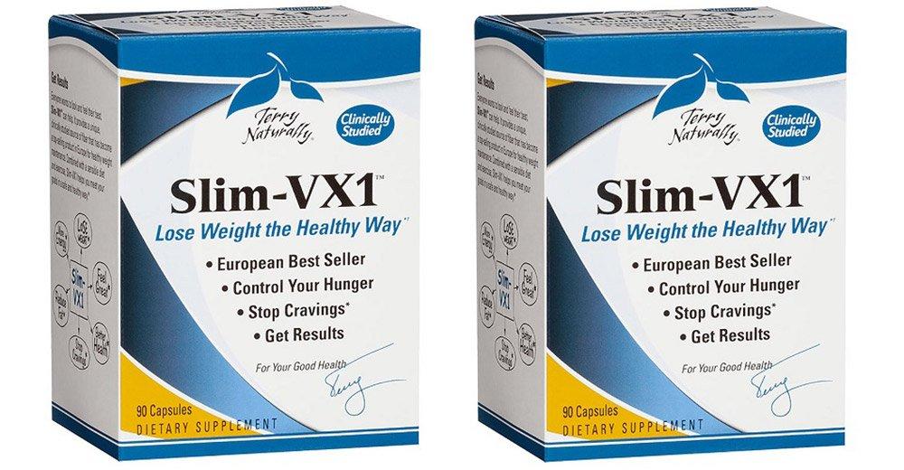 Europharma/Terry Naturally - Slim-VX1 |90 Capsules, 2 Pack