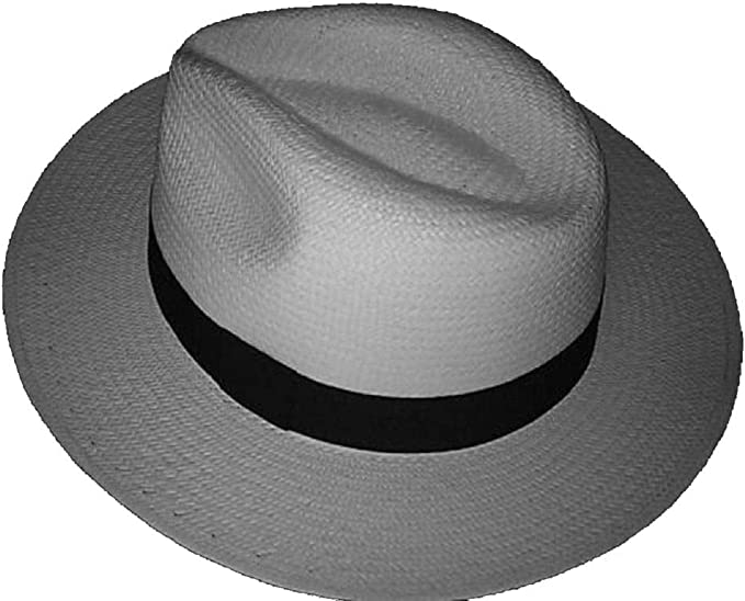 Made by Barrancos, Ecuador Genuine Classic Panama Hat Sizes S-3XL Available