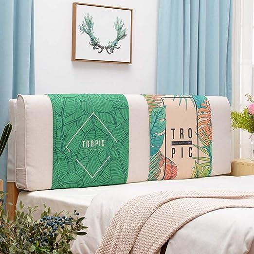 AGWa Cojín de respaldo junto a la cama Adecuado para camas ...