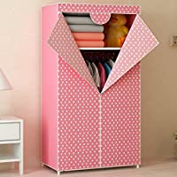 Generic Brand New Fashion Single Folding Wardrobe Reinforced Bold Closet Dustproof Waterproof Moistureproof Armoire for Kids