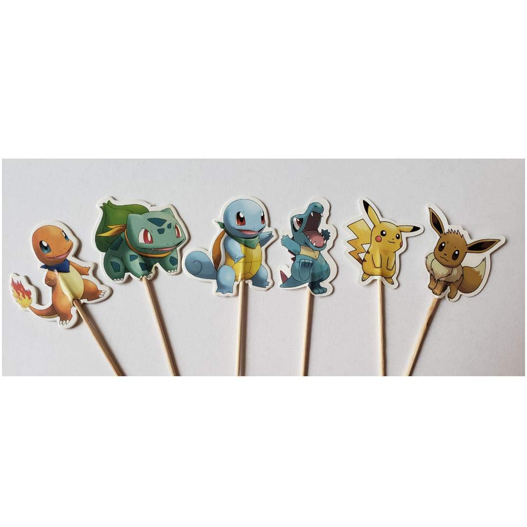 Pokemon Pikachu Birthday Party Lollipops Set of 10