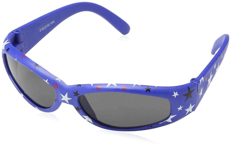 EYELEVEL Baby-Boys Pattern Tots Sunglasses Blue One Size
