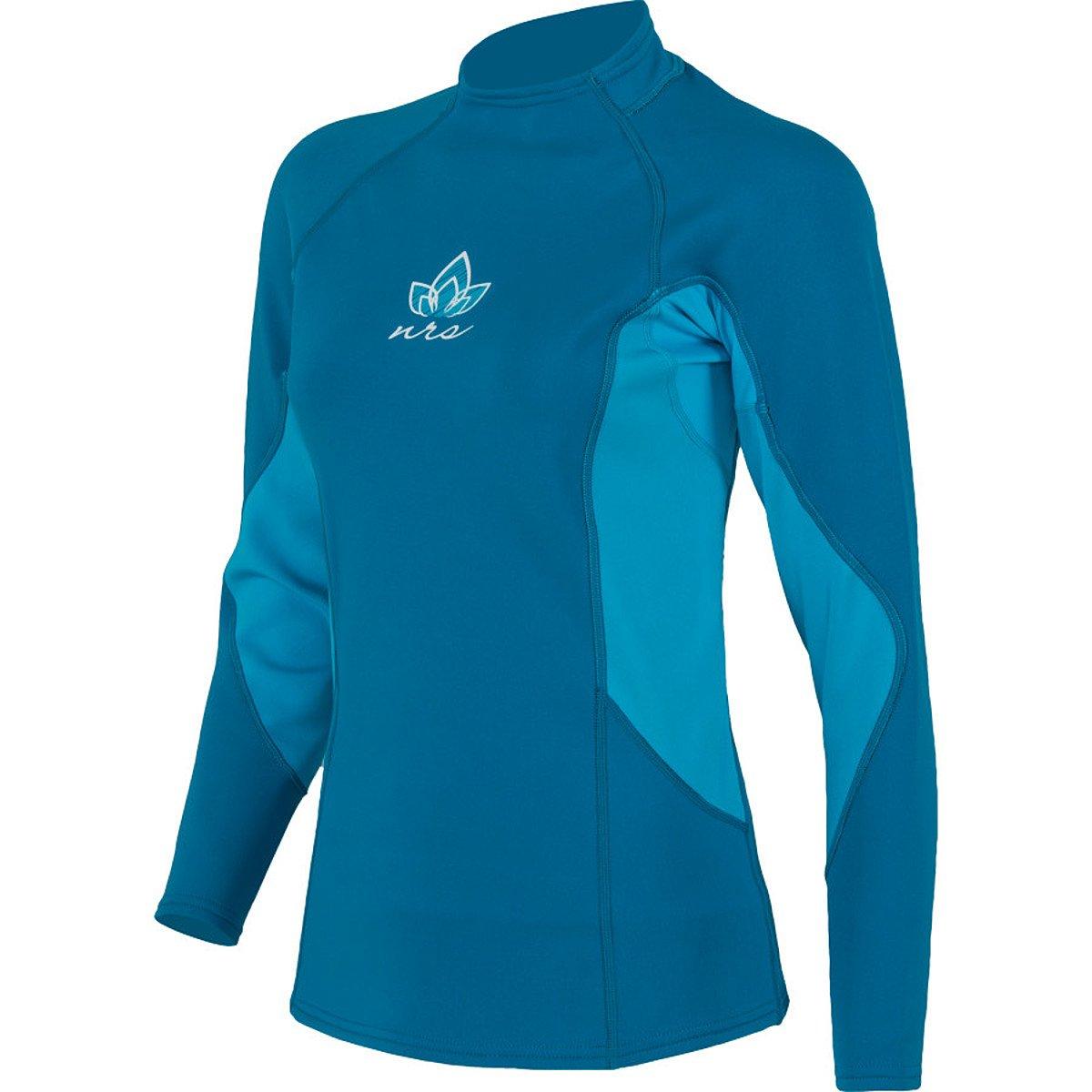 NRS HydroSkin 0.5 LS Shirt - Women's Dark Ocean XS by NRS
