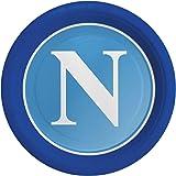 8 Piatti per festa Licenza Ufficiale SSC Napoli diametro 18 cm 66001