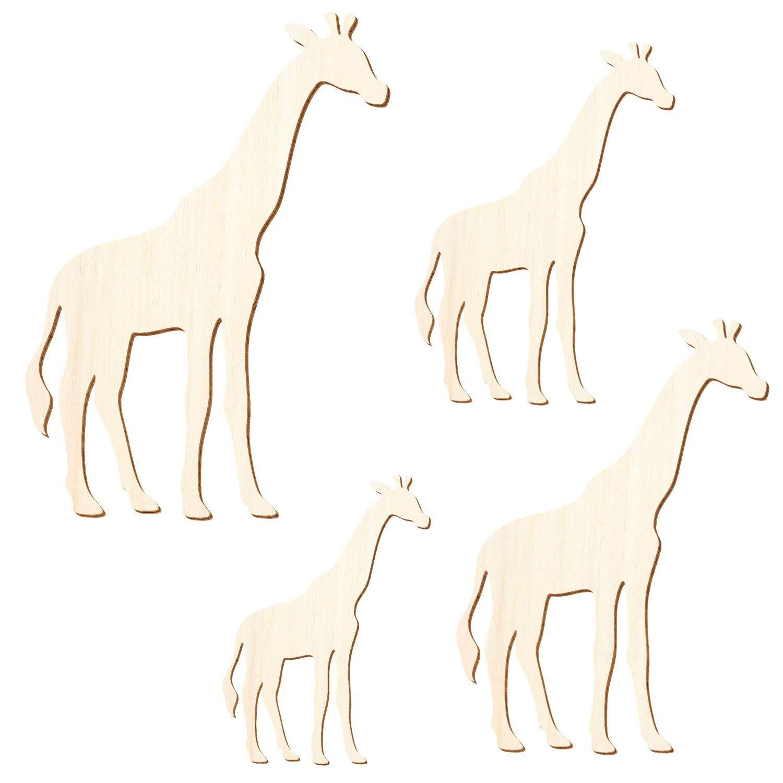 Holz Giraffe Giraffe Giraffe - 3-50cm Höhe - Basteln Deko, Größe 25cm, Pack mit 10 Stück B07NMPS7C1 | Authentische Garantie  581e5b