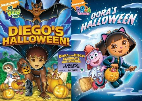 Dora the Explorer: Dora's Halloween/Go Diego Go!: Diego's Halloween ()