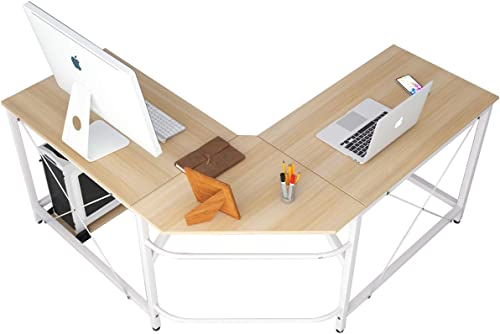 Soges L Shaped Desk Corner Computer Desk Gaming Table Office Workstation Desk
