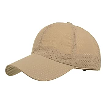 LMMVP Gorra de Béisbol de Malla Deportiva,Moda Hombres Mujer Ajustable Verano Sólido Carta Gorra Sombreros de Béisbol Sombra (S): Amazon.es: Deportes y aire ...