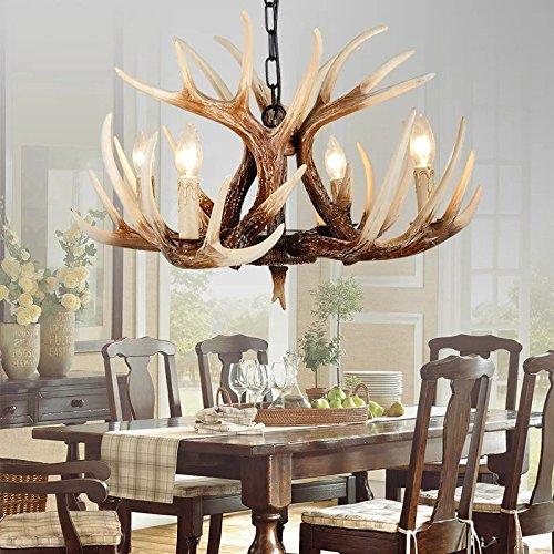 Deer Antler Pendant Light