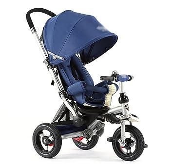 Amazon.com: Tricycle 3 en 1 Carriage de bebé 3 ruedas Pedal ...