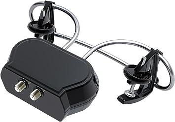 Antena TDT HD DVB-T TV exterieure Installer TNT Sobre parabólica