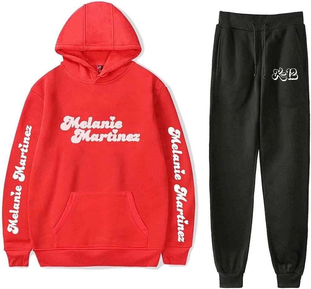 WAWNI Melanie Martinez K-12 Hoodies Pants Two-Piece Sweatshirt Suit