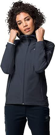 Jack Wolfskin Jwp Shell Women's Lightweigt Recycled Waterproof Rain Jacket
