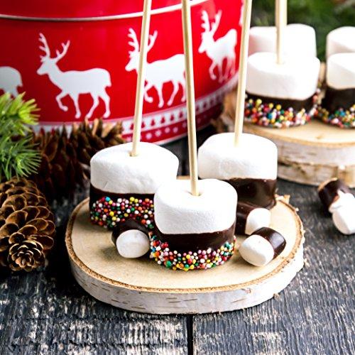 Sweet Wishes Chocolate Belga Para Fondue 900 Gr Mix De Chocolate Con Leche Negro Y Blanco Para Fuentes De Chocolate 10 Sobres Embalados Individualmente