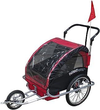Infantastic - Remolque de Bicicleta/Jogger Plegable Elegir: Amazon ...