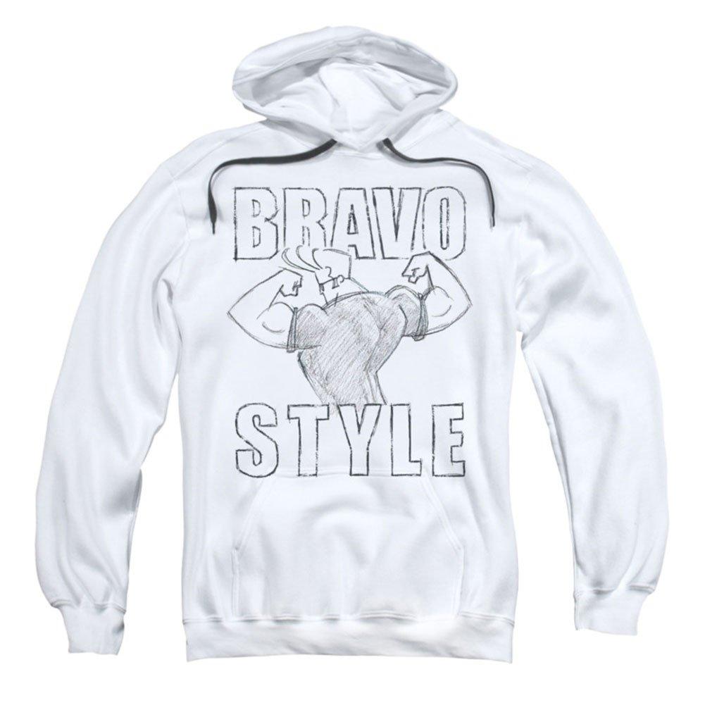 Trevco Johnny bravo-bravo stil hoodie & für Herren