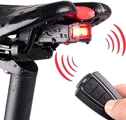 Fahrrad Rücklicht Fahrrad-Diebstahlalarm Intelligentes Fahrrad Rücklicht Set