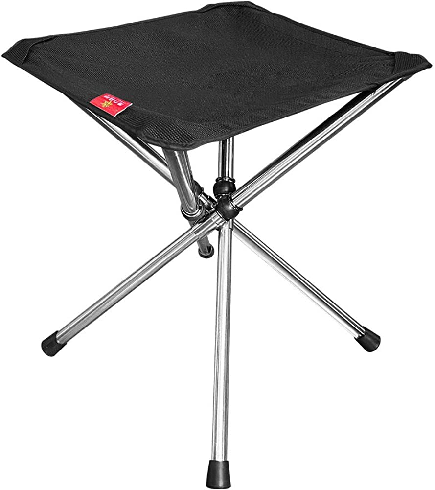 Camping Portable Foldable Stool for Outdoor Camping Picnic Fishing Durable