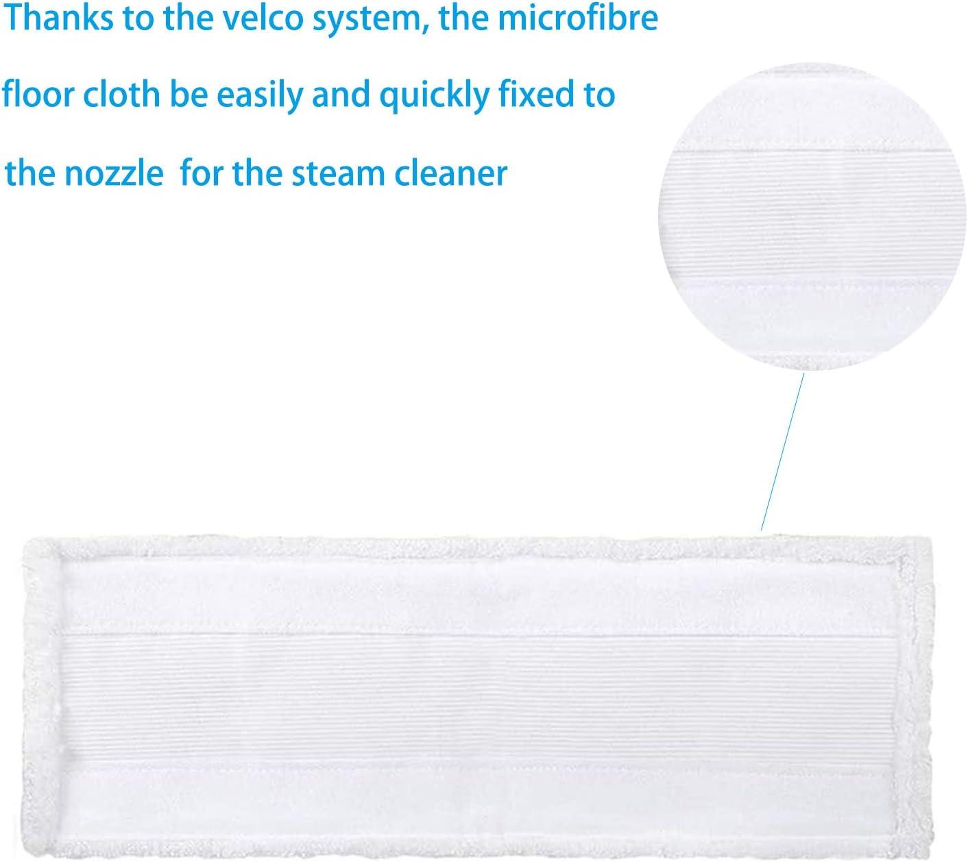 Set di 5 Panno Pulizia Pad in microfibra per pulitore a vapore Karcher EasyFix SC2 SC3 SC4 SC5