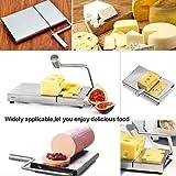 WAYDA Cheese Slicer, Stainless Steel Cheese