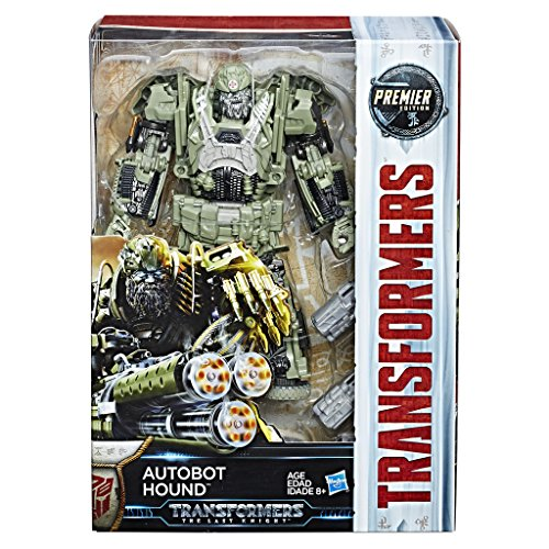 Hasbro Transformers C2357ES1Movie 5Premier Voyager Autobot Hound Action Figure