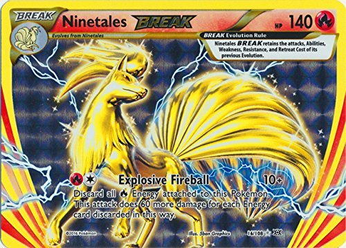 Pokemon - Ninetales BREAK (16/108) - XY Evolutions - Holo