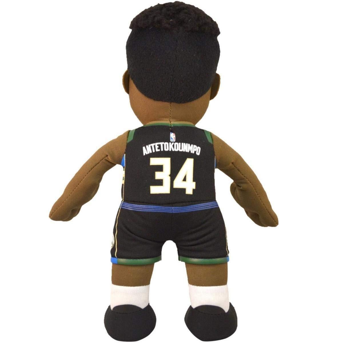Poupluche (Muñeco de peluche) Giannis Antetokounmpo - Statement Camiseta - Milwaukee Bucks: Amazon.es: Deportes y aire libre