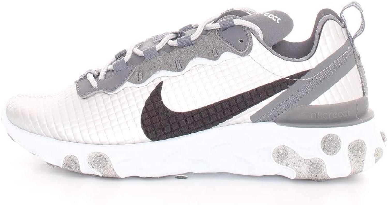 asesino café Cabra  Amazon.com: Nike React Element 55 Premium: Shoes