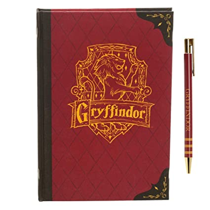 Gryffindor Journal Harry Potter Stationary Harry Potter Accessory