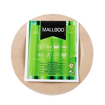 Amazon De Mallboo Bambus Teller Alle Natur Und Kompostierbar