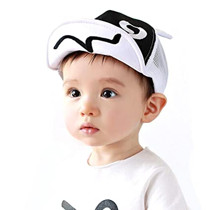 3e33d57c32a4aa Image Unavailable. Image not available for. Color: Fashion Kids Hats Boys  Kids Sun Hat Toddler Baseball Cap ...