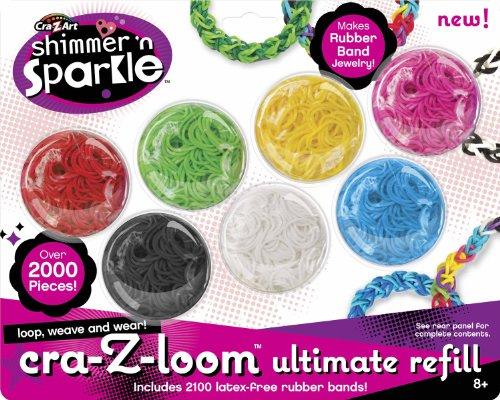Cra Z Art Cra Z Loom Ultimate Color Refill