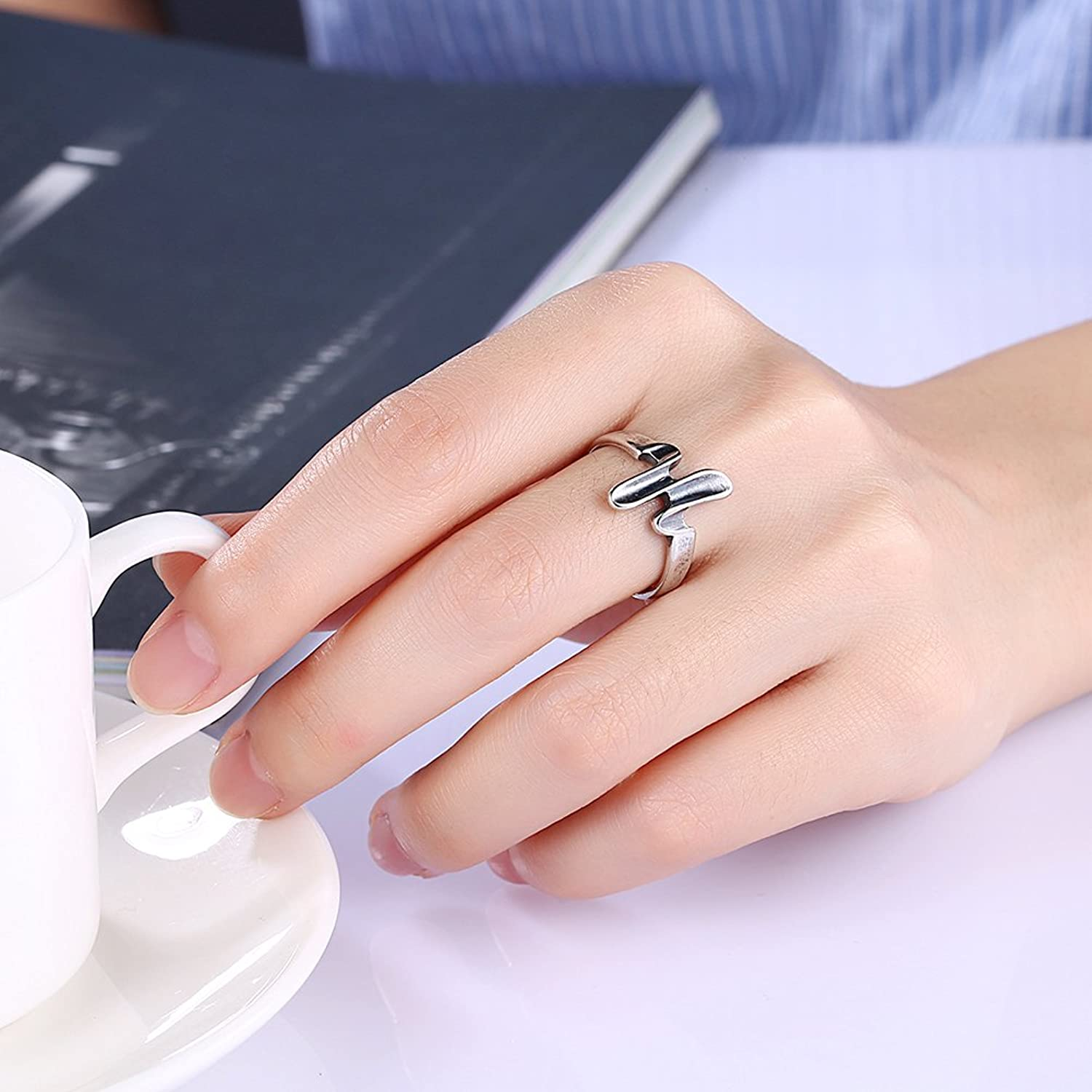 Antique Bronze Unique Rings Gift For Women And Men Vintage Ring ...