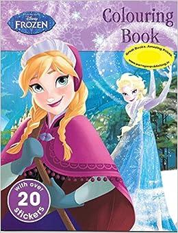 Disney Frozen Colouring Book Amazoncouk 9781472394811 Books